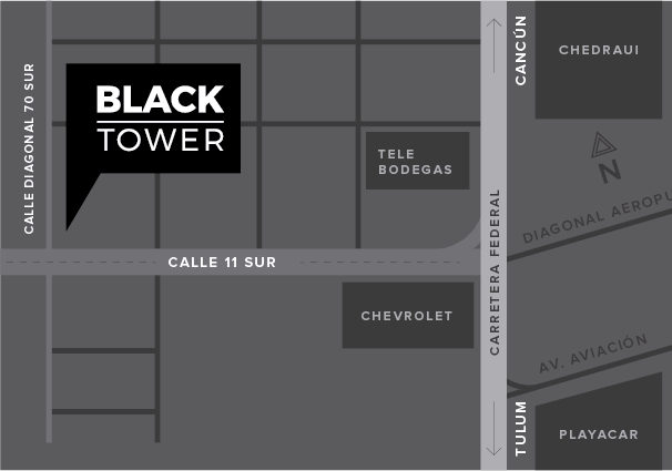 One Primer - Black Tower Mapa